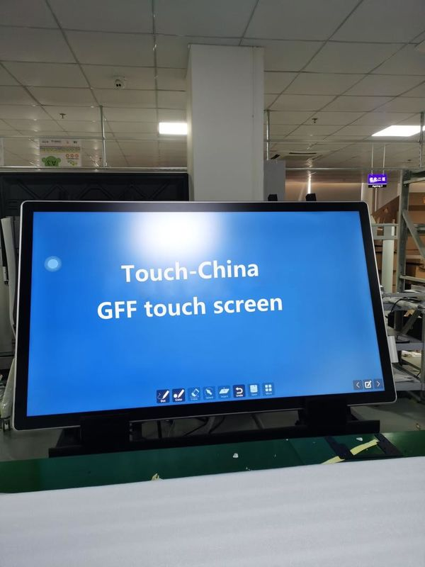 "100 HZ SP ITO Film 10 Points 65"" PCAP Touch Panel"